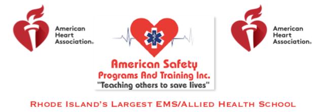 American Safety Programs - Rhode Island Association of Fire
